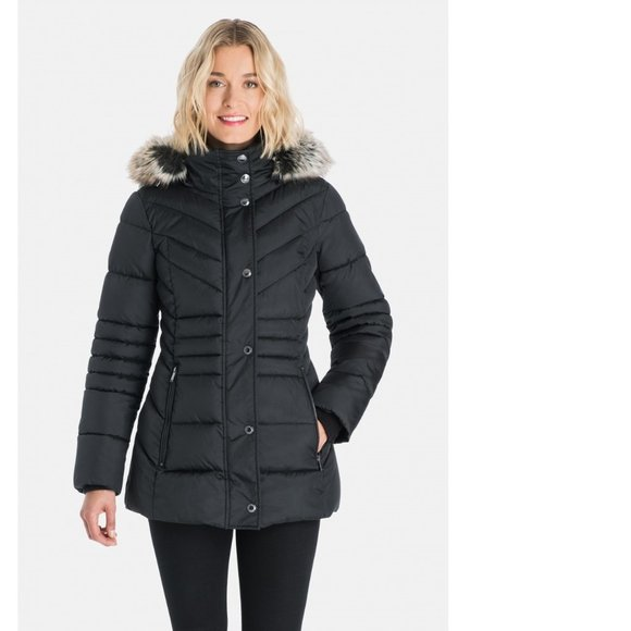 London Fog Jackets & Blazers - London Fog Victoria Puffer Coat